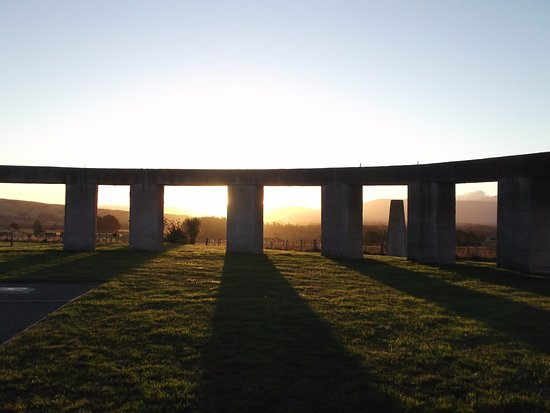 Carterton, Nova Zelândia: Within the henge