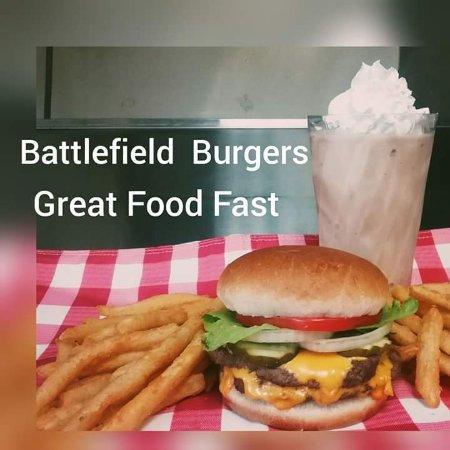Fort Oglethorpe, Τζόρτζια: Battlefield Burgers