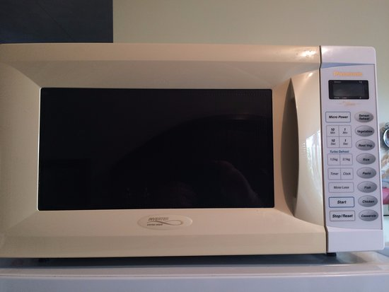Mangawhai, Nuova Zelanda: the very old microwave that never worked
