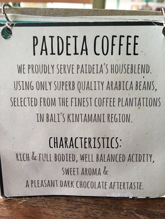 Paideia Coffee Shop: photo1.jpg