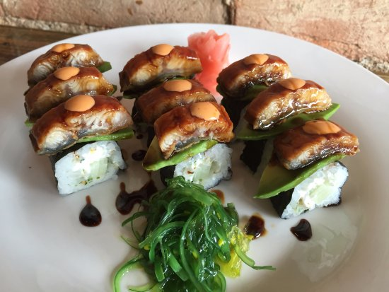 Fort Madison, IA: Eel Roll - Sushi every Thursday!