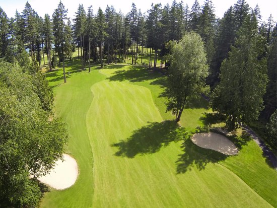 Harrison Mills, Canadá: The greens at Sandpiper.