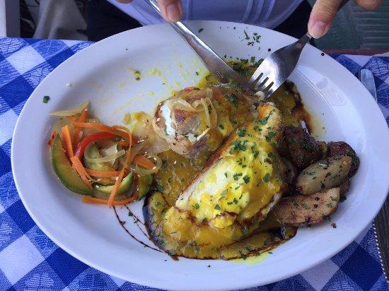 Leonardo Etxea: pollo con salsa mostaza y miel