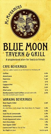 Photo of American Restaurant Blue Moon Tavern and Grill at 432 Nw 21st Ave, Portland, OR 97209, United States