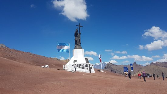 Vistalba Wine Tours : Cristo Redentor Argentina/Chile so cold up there Brrrr