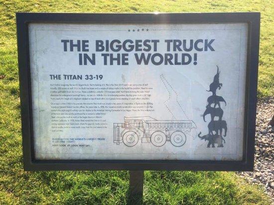 Sparwood, Καναδάς: Terex 33-19 Titan