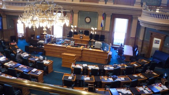 Colorado State Capitol : House Chamber