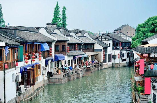 Coach Tour: Zhujiajiao Water Town...