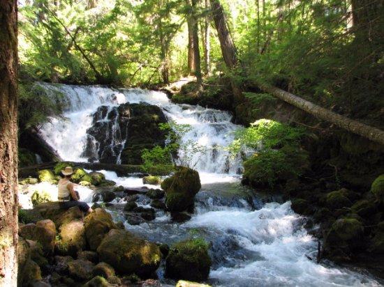 Waterfalls near Prospect,Or.