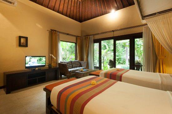 Beji Ubud Resort: Deluxe Garden - Twin Bed