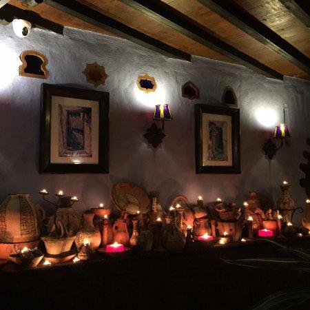 دار الشاون: set up at night
