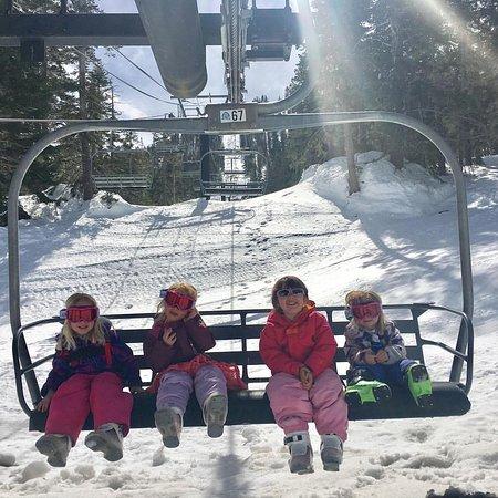 Mt. Rose Ski Resort : Ski 'em young!