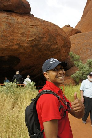 Yulara, Australia: Our brilliant guide Alwyn (K'gari)