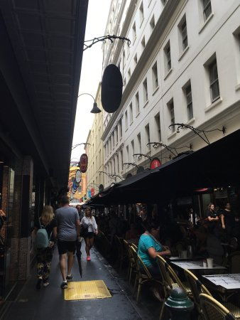 Photo of Tourist Attraction Degraves Street at Degraves Street, Melbourne, Vi, Australia
