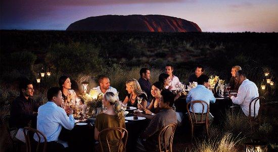 Uluru-Kata Tjuta National Park, Australia: Sounds Of Silence Dinner at Uluru