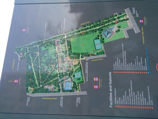 Photo of Park Holland Park at Kensington-chelsea, London, United Kingdom