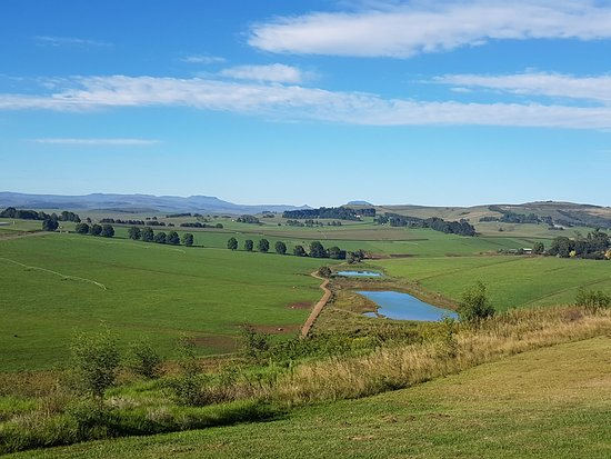 Mooi River, South Africa: View From Unit 15b , awesome views