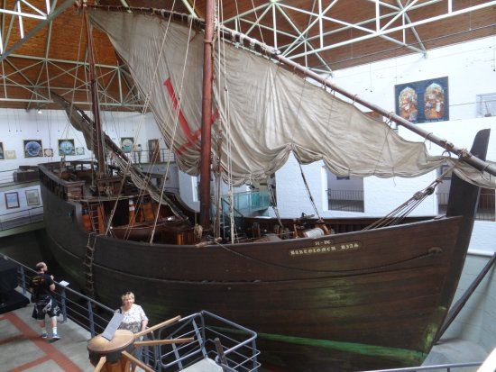 Bartolomeu Dias Museum Complex: каравелла