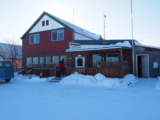 McGrath, AK: Mcgath Hotel in Winter