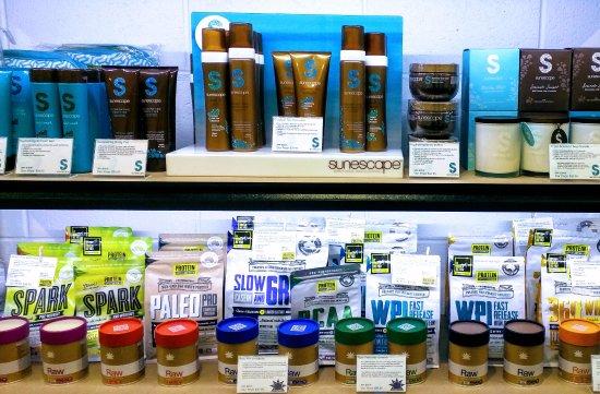 Bendigo, Austrália: Large range of products.