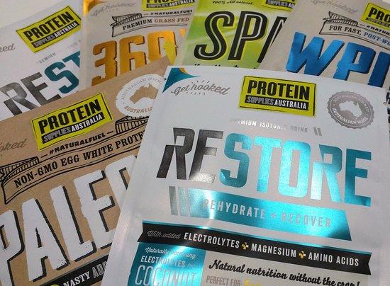 Bendigo, Austrália: Protein Supplies Australia available in studio!