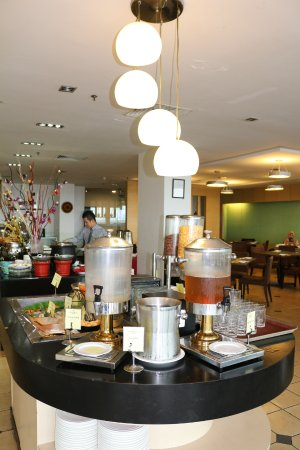 Tawau, Malasia: Beverages at Cafe@Se7en