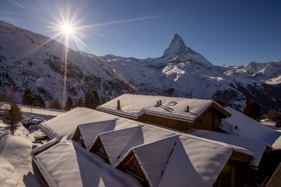 "Riffelalp Resort 2222 m: Suite ""Matterhorn"" - view"