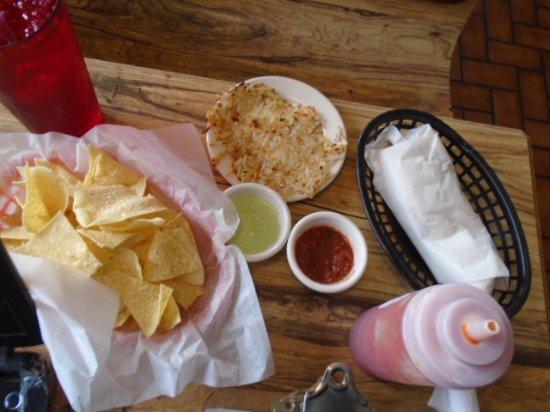 Mexia, TX: Montes Burritos