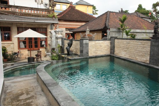 Oka Kartini Bungalow: swimming pool