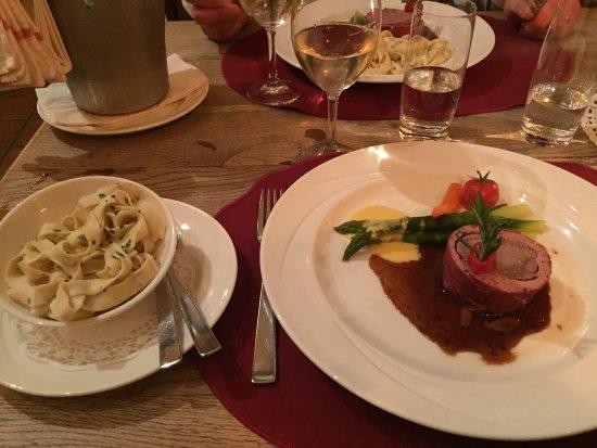 Laax, Ελβετία: Super Essen!