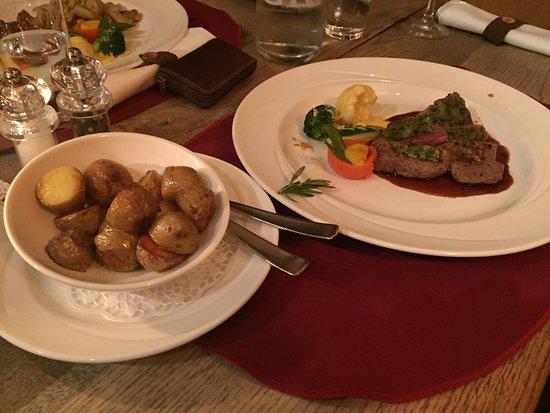Laax, Schweiz: Super Essen!