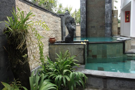 Oka Kartini Bungalow: Swimming pool area