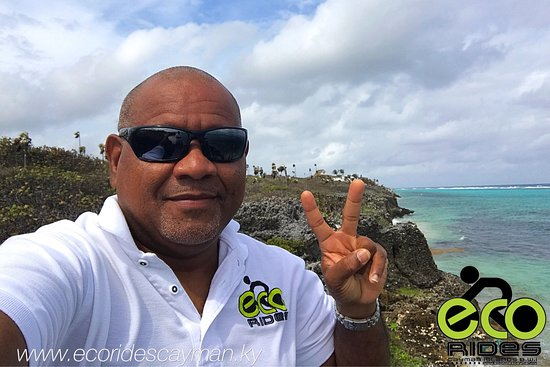 East End, جراند كايمان: ECO Rides Cayman out exploring the East End coast and its lovely! Peace, Guidance and Nuff Respe