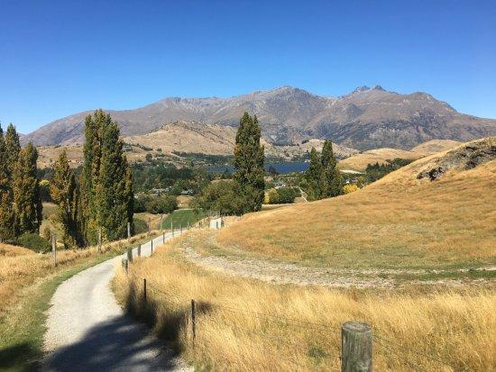 Arrowtown, Nueva Zelanda: view from Christine Hill