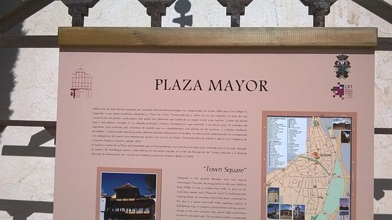 Tembleque, Spanje: plaza mayor
