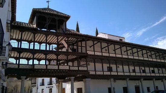 Tembleque, Spania: lato interno
