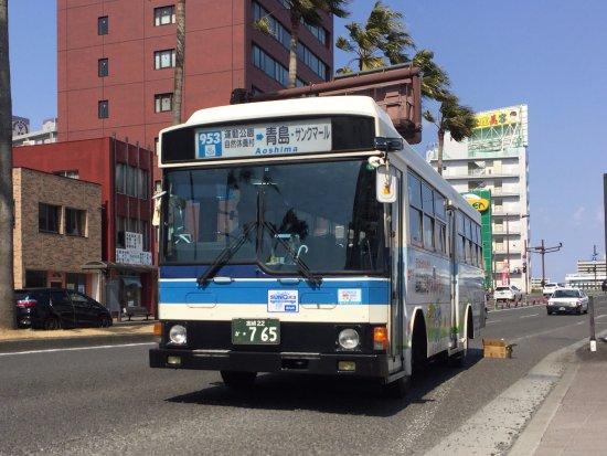 宮崎交通 株式会社, 新車かと見紛うほどの輝きを放つ昭和62年式のバス