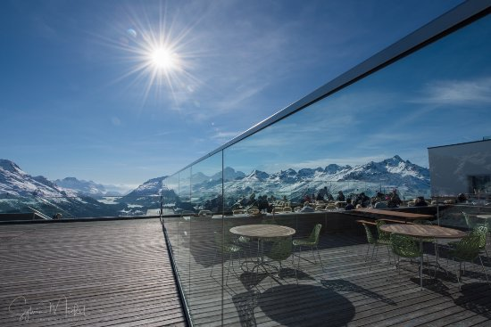 Самедан, Швейцария: Terrasse