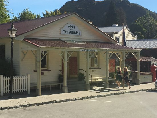 Arrowtown, Neuseeland: pretty post office