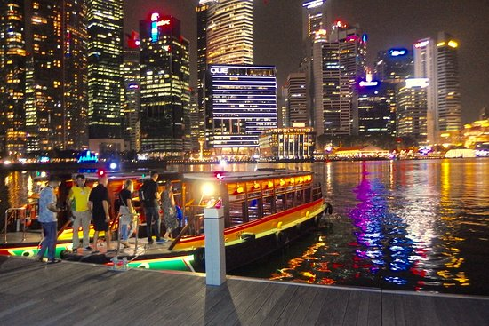 Singapore River Cruise: Starting point of the cruise