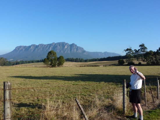 Sheffield, Australia: View of Mt. Roland