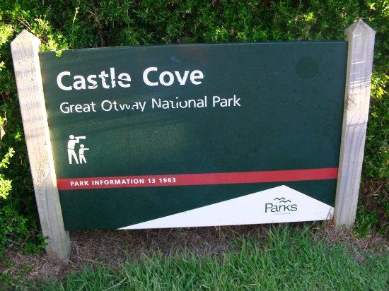 Hordern Vale, Australia: the sign of castle cove