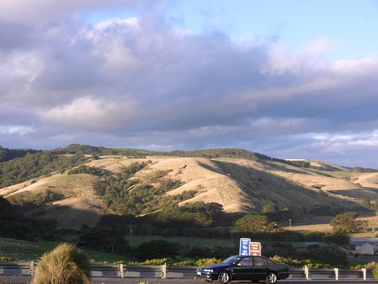 Hordern Vale, Australia: the view of the hills
