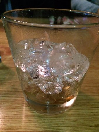 Moonah, Australia: Wild Turkey and Coke (finished) very watered down due to ice