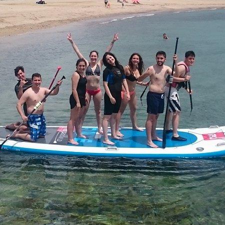 Miami Platja, Spain: Actividades náuticas para universitarios