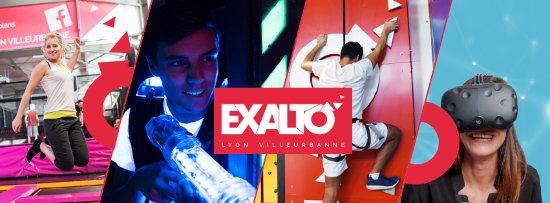 Exalto Lyon Villeurbanne : Multiplex de loisirs indoor : Trampoline, Funclimb, Laser Game, VR
