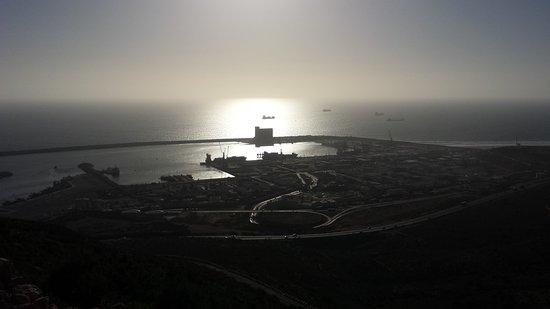 Agadir Kasbah: Kasbah View to the port