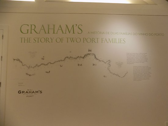 Map of the estate Picture of Grahams Port Lodge Vila Nova de