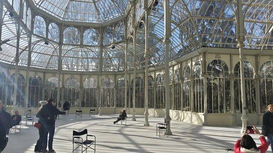 La casa di vetro foto di parco del ritiro parque del retiro madrid tripadvisor - La casa di vetro ...