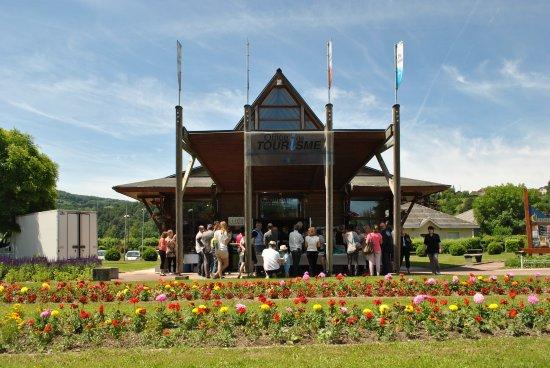 Voiron, França: Office de Tourisme du lac de Paladru, Charavines